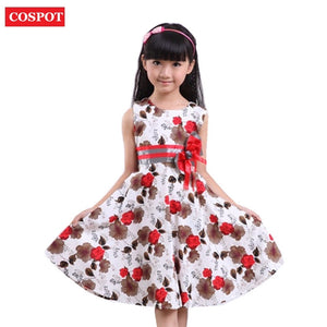 8532e7a803cc ... for Wedding 2018 New 16. COSPOT Baby Girls Floral Dress Girl Summer  Princess Birthday Party Dresses 2-15Yrs Girl s Fashion