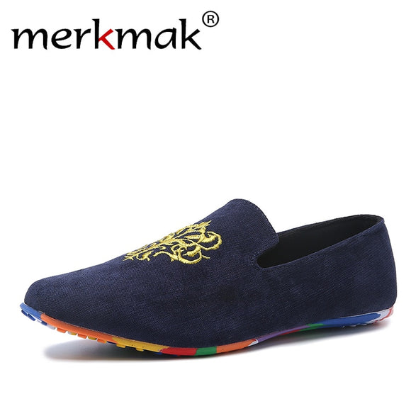 a46129137bdd Hot Sale Velvet Loafers Men Shoes Men s Flats Male Slip-On Driving Shoes  Large Size