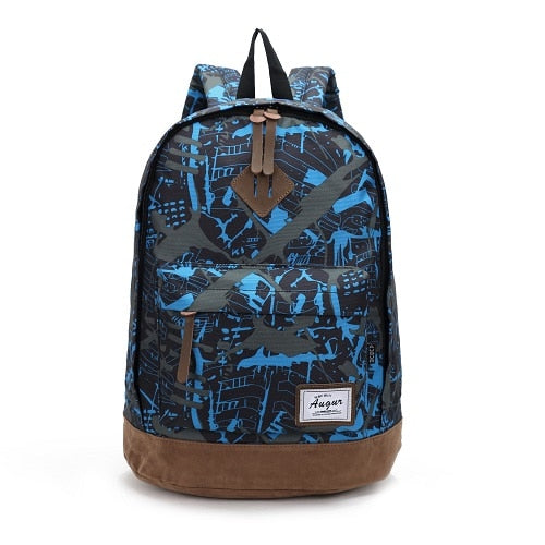 15a1eedfe785 ... AUGUR Men Women Backpack School Bag for Teenagers College Waterproof  Oxford Travel Bag 15inch Laptop Back ...