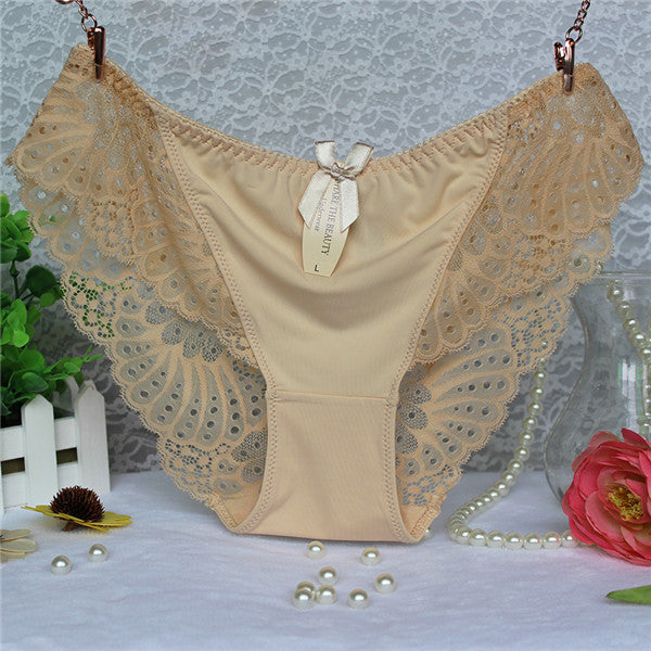 cf136b02fff ... Awaytr Plus Size Hot Underwear Women Panties Briefs for Female hipster  Underpant Sexy Lingerie Lace Cotton ...