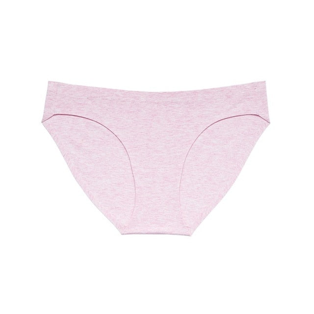 78d9b8f8e7af78 ... Briefs for Women Color Cotton bikini Women's Breathable sexy Panties  seamless girl Comfort Underwear Low Rise ...