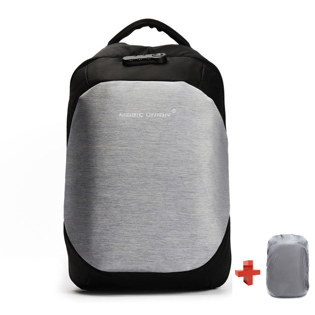 b477a9ae15a3 ... MAGIC UNION Men s Travel Bag Man Swiss Backpack Polyester Bags  Waterproof Anti Theft Backpack Laptop Backpacks ...