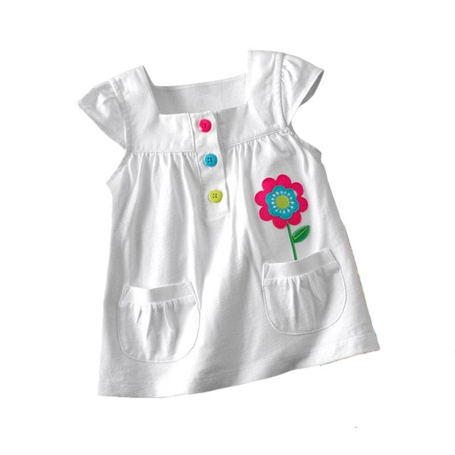 8c2234966b2 ... VIDMID baby Girl t-shirt big Girls tees t shirts children blouse t- shirts ...