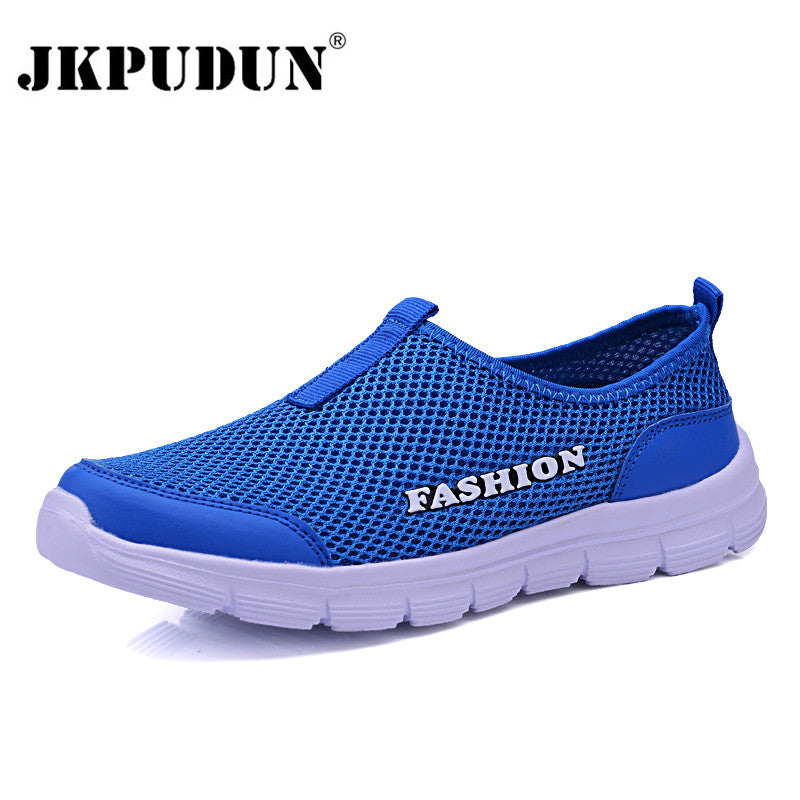 fe1b59ecd28f JKPUDUN Unisex Summer Breathable Mesh Men Shoes Lightweight Sneakers Men  Fashion Casual Male Shoes Brand Designer ...