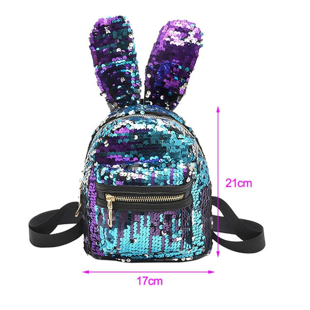 Popular Brand New Baby Girl Backpack Childrens Bag Fashion Cute Rabbit Ears Double Shoulders Backpack Baby Backpack Accessories Activity & Gear