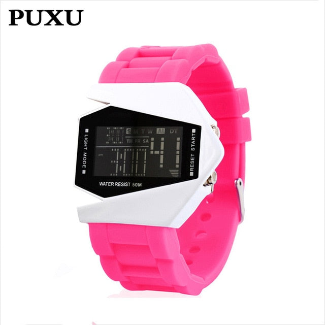 Children's Watches The Cheapest Price Fashion Electronic Student Movement Wristwatches Gift Children Safety Wristbands Boy Waterproof Clock Men Women Relojes 2019 100% Guarantee