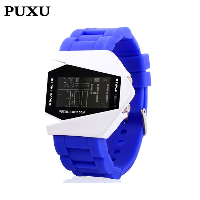 The Cheapest Price Fashion Electronic Student Movement Wristwatches Gift Children Safety Wristbands Boy Waterproof Clock Men Women Relojes 2019 100% Guarantee Children's Watches