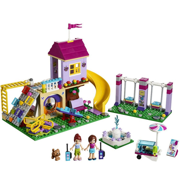 01050 Heartlake City Playground Building Blocks Bricks Education Sets Toys for Girls Gift Compatible with Legoeing Friends 41325