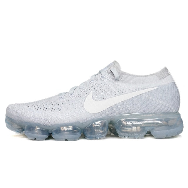 e134e9a0888 ... New Arrival Original Authentic Nike Air VaporMax Flyknit Breathable Men s  Running Shoes Sports Sneakers Classic Shoes ...