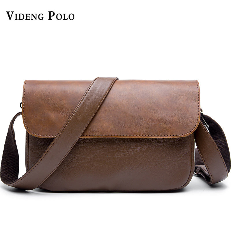 VIDENG POLO Brand Leather Men Messenger Bags Men s Vintage Shoulder Bags  Fashion Crossbody Bags Briefcases Casual ... cc988c5e2e20d