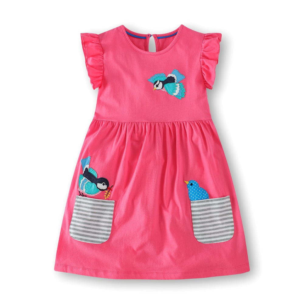 eae45d77a Baby Girls Summer Dress 2018 Brand Princess Dress for Kids Clothes ...