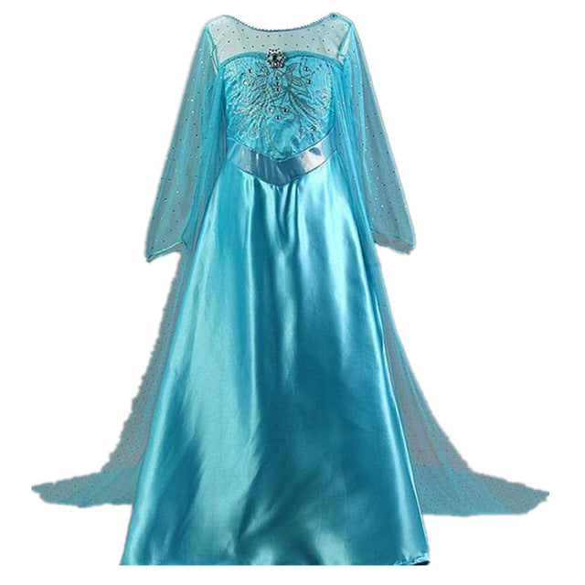 58f928251830e Children Fancy Dresses Princess Aurora Ball Gown For Girls Halloween ...