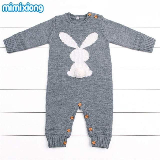 2850a7d7c Baby Boys Rompers Winter 2018 Newborn Girls Christmas Jumpsuits Long ...