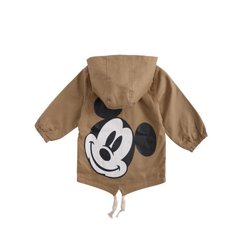 218880cb47ab Angeltree Spring Boys Girls Jackets For Children Hooded Cute Mickey ...