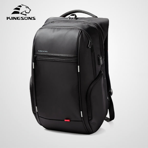 bb12ed7a28 Kingsons 2018 Business Men Backpack Micro Waterproof Anti Theft Travel Bag  Fashion Backpack Male New Laptop