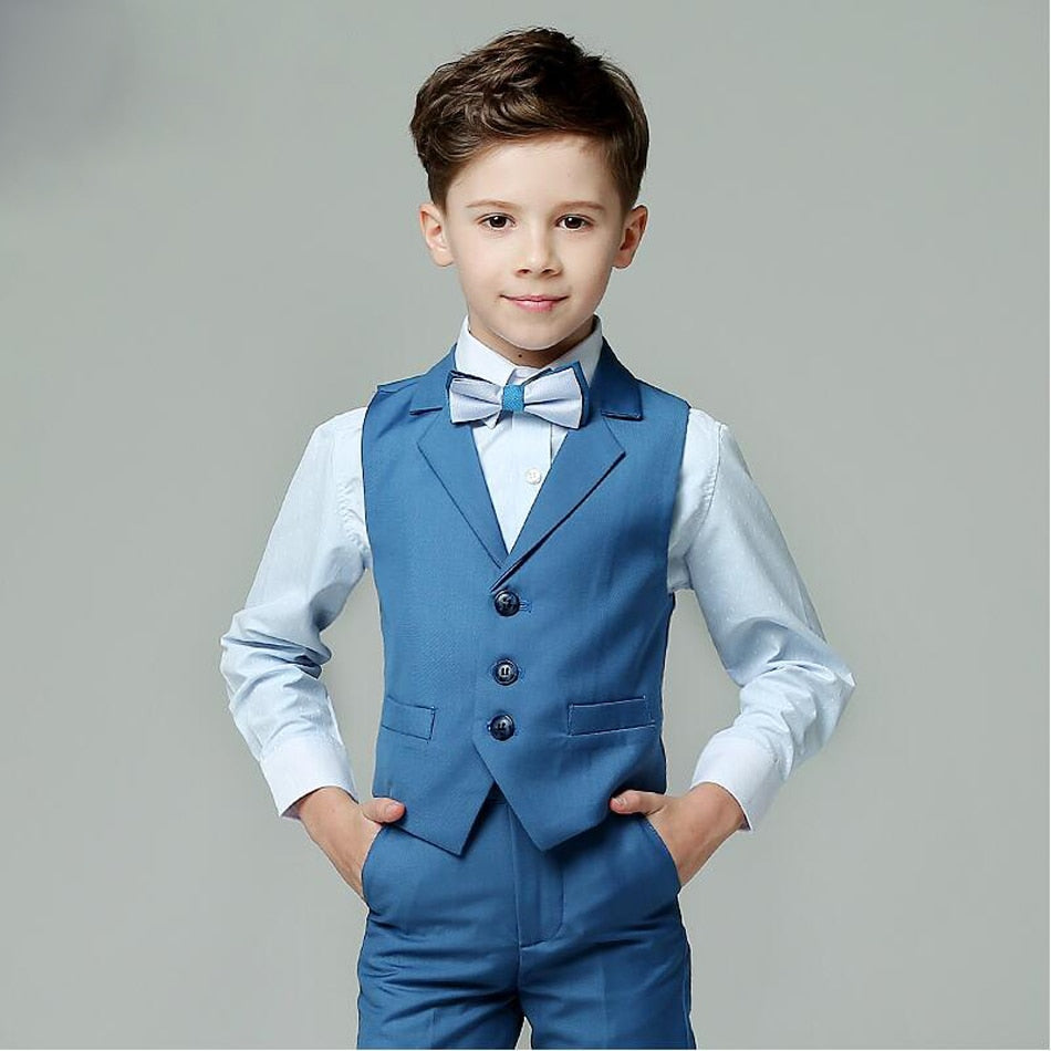 Boys Formal Suit For Wedding Kids Slim Fit Blazers For Summer Clothes Boy Kids Party Suits