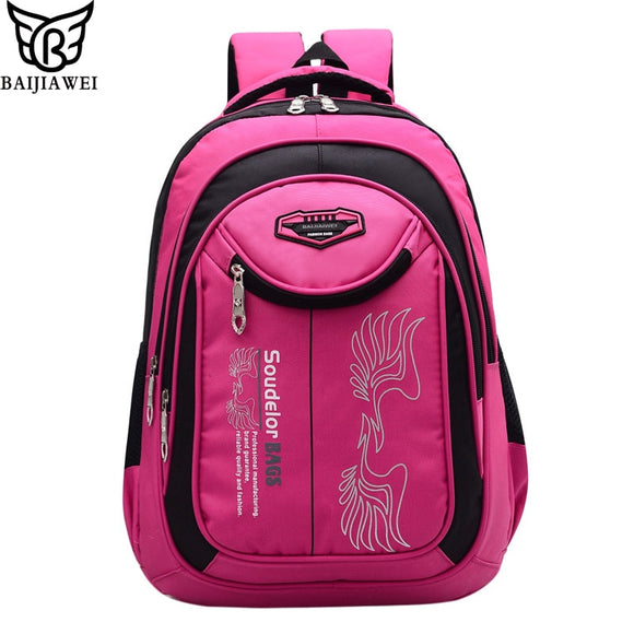 9ae49f8e26bc BAIJIAWEI New Children School Bags Large Capacity Leisure Backpack  Patchwork Primary School Boys Girls Alphabet Square