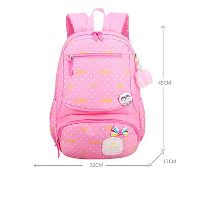 70a4a987ae21 ... BAIJIAWEI New Children Schoolbag Large Capacity Lovely Princess Backpack +Cute Pendant Girls Fashion Shoulder Bags ...