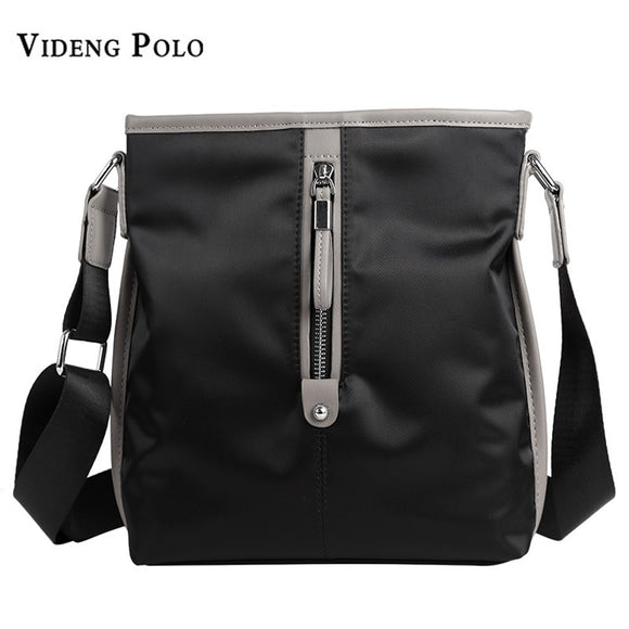 a5aa8b3f37d3 ... Layer  VIDENG POLO Brand New Mens Business Bag Men Waterproof Nylon Messenger  Bags Leisure Mans Shoulder Crossbody ...