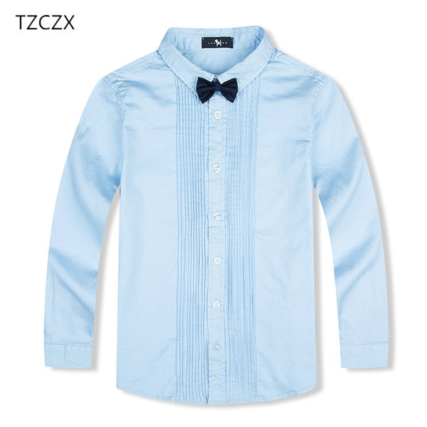 eddadd6a1c759 ... On Sale Children Boys Shirts European and American Style Solid 100% Cotton  Kids Shirts For ...