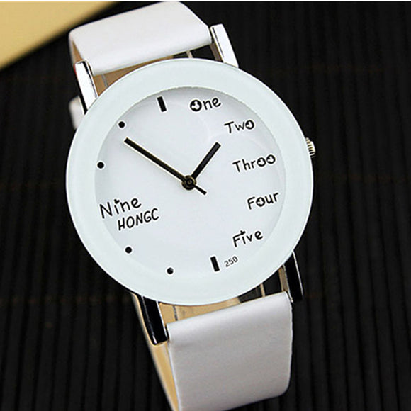 yazole brand wrist watch women watches fashion women's watches leather band ladies watch clock bayan kol saati reloj mujer