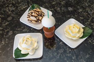 Spoon Blossoms - Butter Blossom, Peanut Butter Blossom, Cream Cheese Blossom