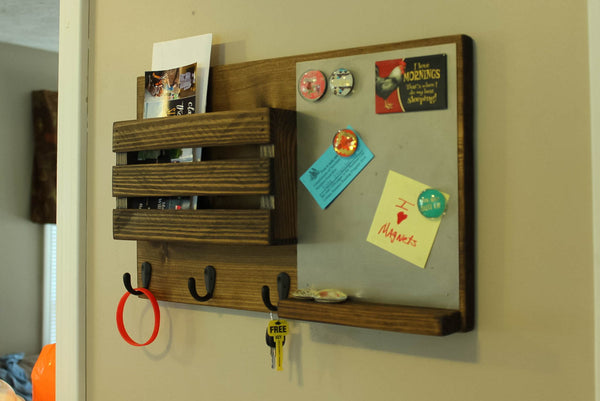 Magnetic Board Mail Organizer
