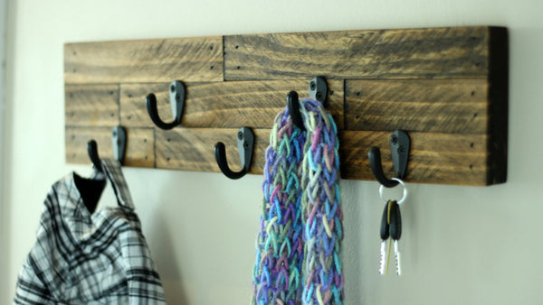 Hat, Scarf Rack, and Key Holder