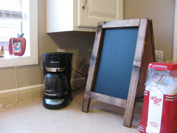 Easel Counter Top Chalk Board