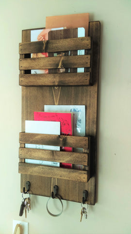 Two Tier Mail Organizer