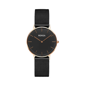 The Black & Rose Case Watch