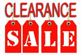 Clearance--Up to 70% off!!