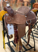 "Load image into Gallery viewer, Bronco Billy's 13 1/2"" Chocolate Youth Roper (109-18)"