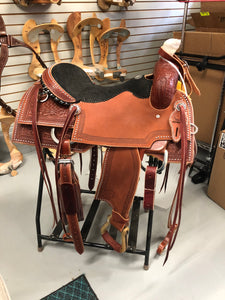 "17"" Ranch Cutter Saddle"
