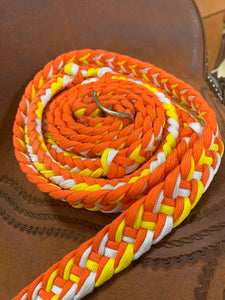 8 Foot Barrel Reins - Clearance Reins