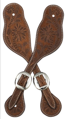 Large Tan Spur Straps