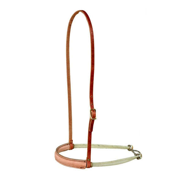 Double Rope Leather Noseband (H903)