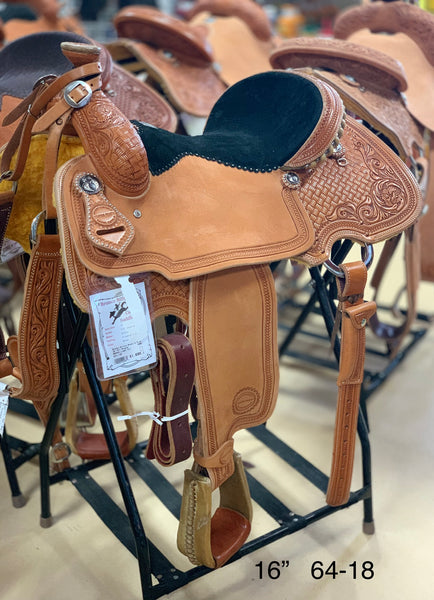 "Bronco Billy's 16"" All-Around Saddle (64-18)"