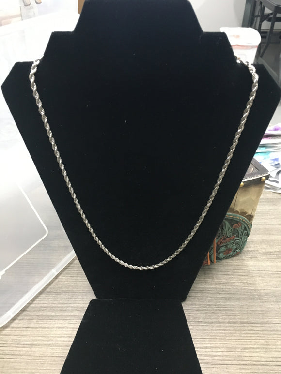 Silver Rope Chain (NRCH)