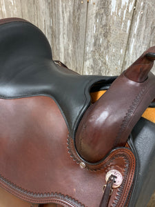 "Circle Y 16"" Omaha Flex2 Trail Saddle"