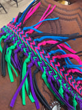 8 Foot Fringe Barrel Reins
