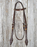 Bronco Billy's Headstall - Browband