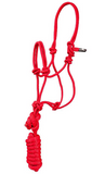 Pony/Mini Rope Halter with Lead Rope