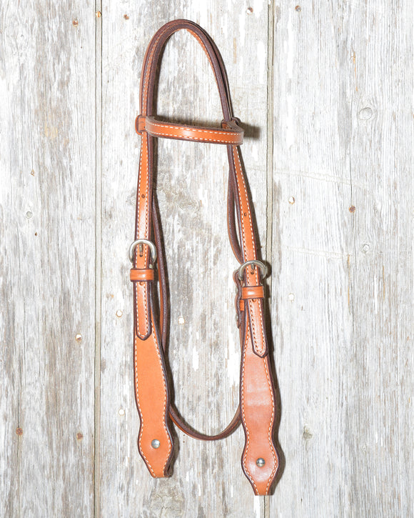 Bronco Billy's Headstall Wide Cheek (BBGL-BBWC)