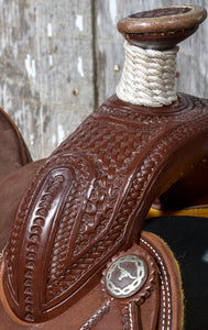 "Bronco Billy's 13 1/2"" Chocolate Youth Roper (109-18)"