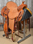 "Bronco Billy's 16"" Light Oil with Antique Finish Ranch Saddle (15-19)"