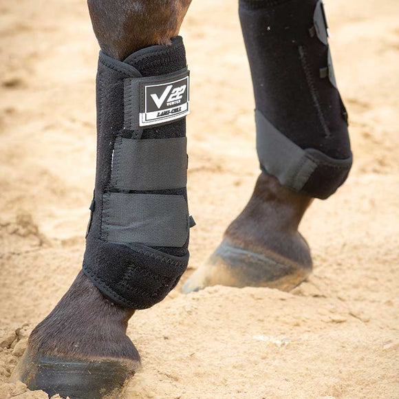 Ventex 22 Black Medium Front Boots (US515V01010100M)