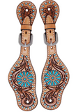 Rafter T Zuni Kid's and Adult Spur Straps