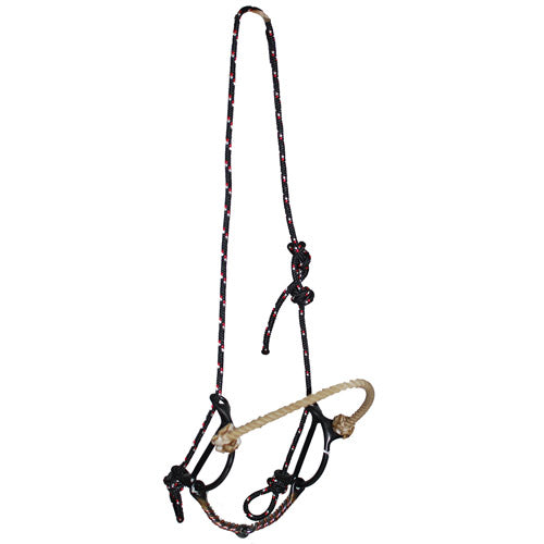 Dutton Draw Twisted Wire Snaffle Bit with Rope Noseband