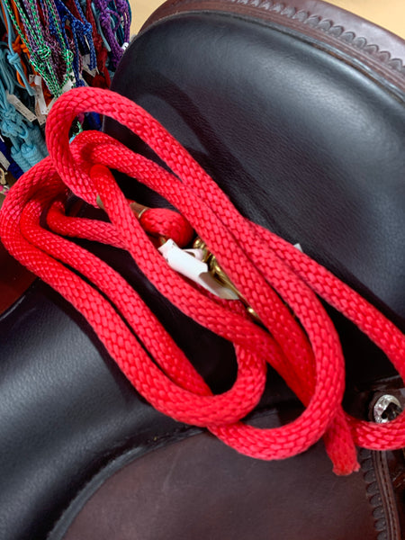 8 Foot Lead Ropes in Assorted Colors